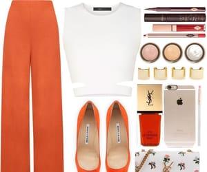 orange and white image