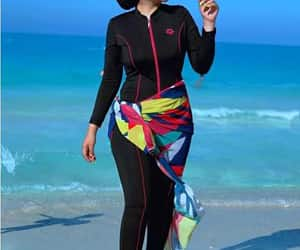 modest swimwear, hijabi swim-wear, and modestkini image
