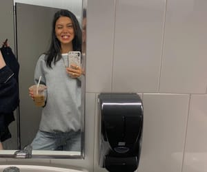 bathroom, coffee, and model image