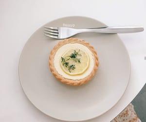 lemon tart, tumblr, and aesthetic image