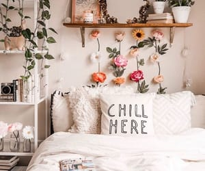 bedroom, blogger, and decor image