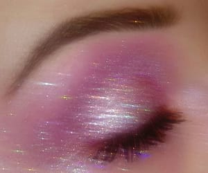 pink, aesthetic, and glitter image
