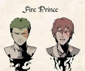 avatar, fuego, and principe image