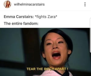 lol, meme, and emma carstairs image