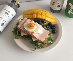 food, fruit, and lunch image