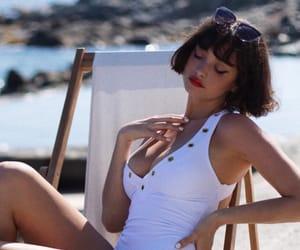 beach, dreamy, and fashion image