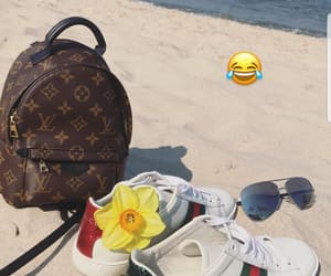 bag, beach, and chill image