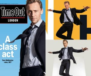 magazine, tom hiddleston, and time out image