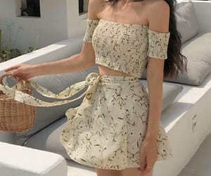 aesthetic, ulzzang fashion, and summer outfits image