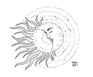 moon sun lovers and broken isnt bad art image