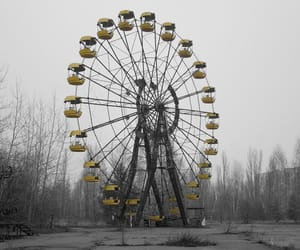 abandoned places, destroyed, and chernobyl image