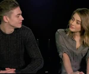 hero fiennes-tiffin, after movie, and tessa young image