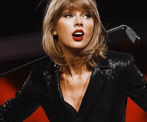 Taylor Swift, 1989, and red image