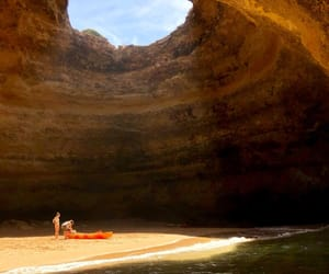 adventure, caves, and kayak image