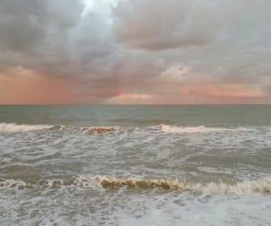 aesthetic, beach, and ocean image