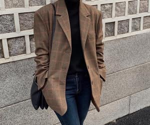 blazer, kstyle, and casual image