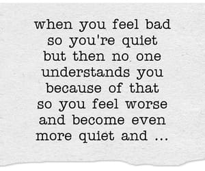 quiet and sad image