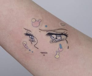tattoo and anime image