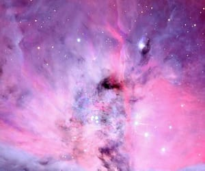 pink, galaxy, and purple image