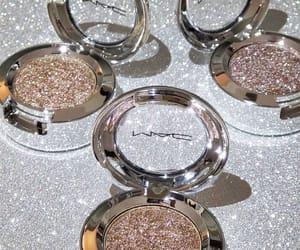 glitter, makeup, and mac image