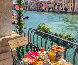 travel, venice, and view image