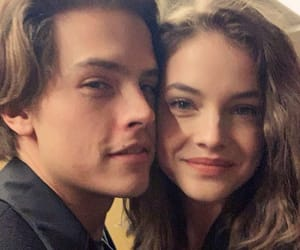 couple, model, and dylan sprouse image