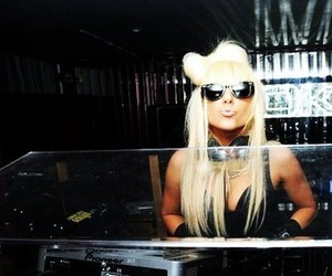 Lady gaga, blonde, and hair image