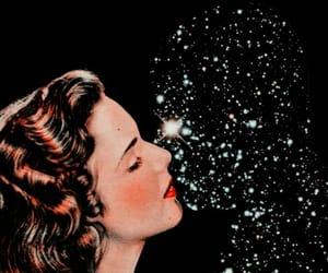 love, stars, and kiss image
