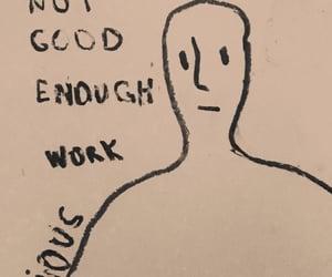 artwork, depress, and drawing image