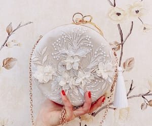 clutch bags and 3d lace image