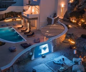 house, luxury, and life image