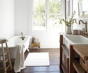 bathroom, home decor, and home interior image