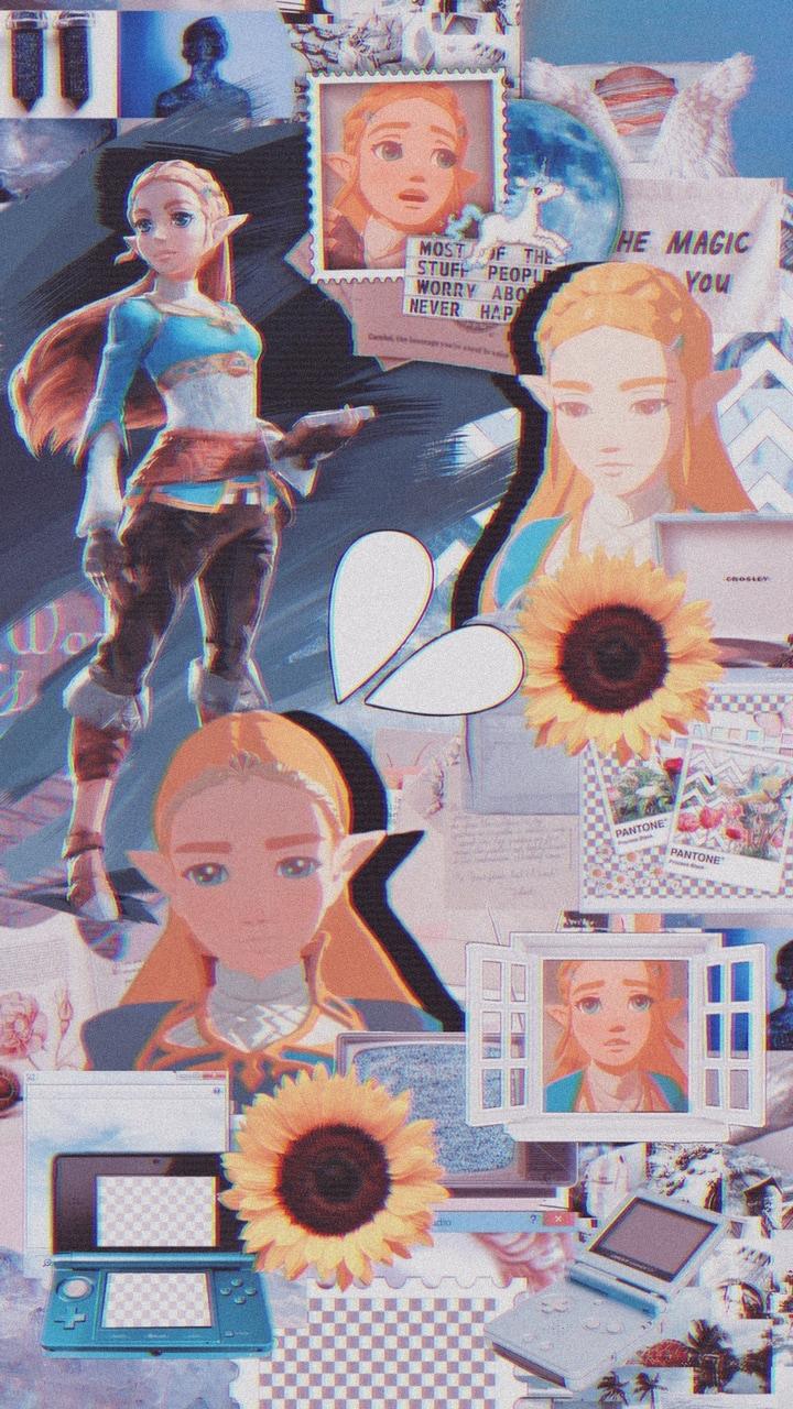 Botw Zelda Wallpaper Don T Repost On We Heart It