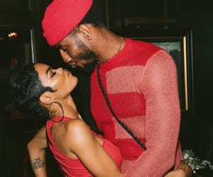 couples, teyana taylor, and love image
