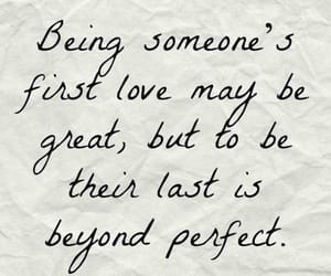 quotes, love, and last love image