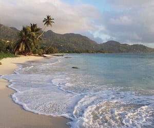 beach, travel, and aesthetic image