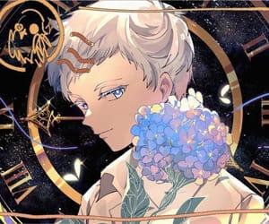 anime, norman, and anime boy image