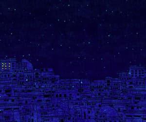 art, city, and night image