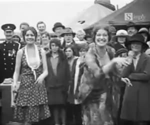 gif, vintage, and the 1920's image