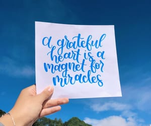 calligraphy, gratefulness, and faith image