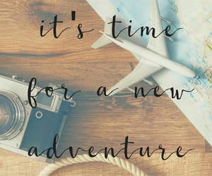 travel, quotes, and adventure image
