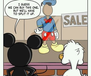 donald duck, funny, and mickey image