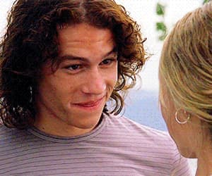 heath ledger, gif, and tumblr cute boy image