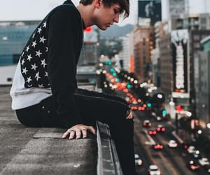 colby brock, boy, and city image