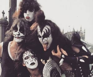 kiss, paul stanley, and gene simmons image