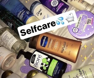 body care, face wash, and selfcare image