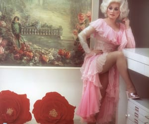 dolly parton, pink, and vintage image