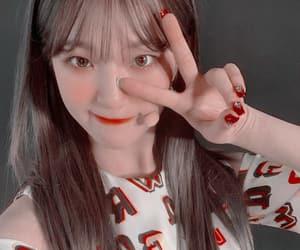 fromis_9 and baek jiheon image