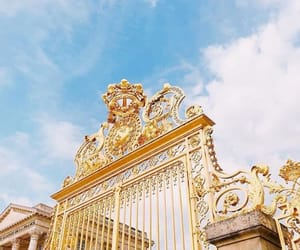 aesthetic, france, and golden image