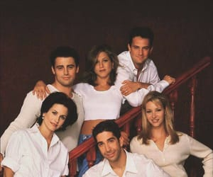 friends, chandler bing, and David Schwimmer image